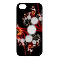 Mysterious Dance In Orange, Gold, White In Joy Apple Iphone 5c Hardshell Case by DianeClancy