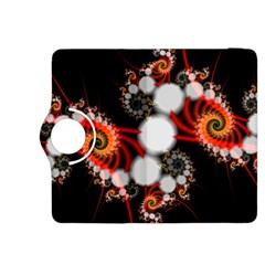 Mysterious Dance In Orange, Gold, White In Joy Kindle Fire Hdx 8 9  Flip 360 Case by DianeClancy