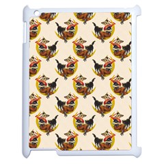 Vintage Halloween Witch Apple iPad 2 Case (White) by EndlessVintage