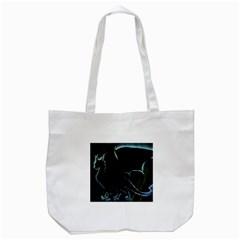 Dragon Aura Tote Bag (white) by StuffOrSomething