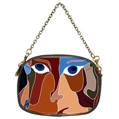 Abstract God Chain Purse (two Sided)  by AlfredFoxArt
