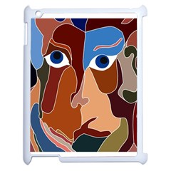 Abstract God Apple Ipad 2 Case (white) by AlfredFoxArt