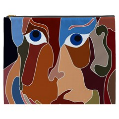 Abstract God Cosmetic Bag (xxxl) by AlfredFoxArt