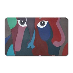 Abstract God Pastel Magnet (rectangular) by AlfredFoxArt