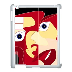 Soul Man Apple Ipad 3/4 Case (white)
