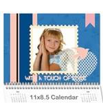 kids - Wall Calendar 11  x 8.5  (18 Months)