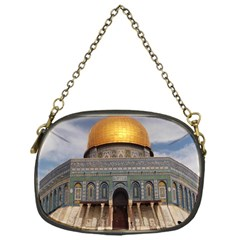 The Dome Of The Rock  Chain Purse (one Side) by AlfredFoxArt