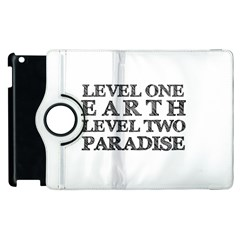 Level One Earth Apple Ipad 3/4 Flip 360 Case by AlfredFoxArt