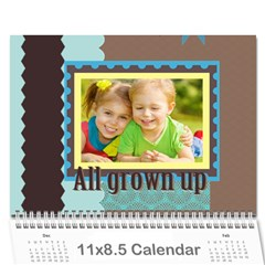 Kids By Kids   Wall Calendar 11  X 8 5  (12 Months)   Yzf6f8p39ic3   Www Artscow Com Cover