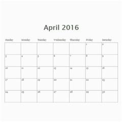 Kids By Kids   Wall Calendar 11  X 8 5  (18 Months)   Etzzvnp4e5h8   Www Artscow Com Apr 2016
