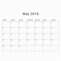 Kids By Kids   Wall Calendar 11  X 8 5  (18 Months)   Etzzvnp4e5h8   Www Artscow Com May 2016