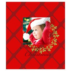 Xmas By Xmas   Drawstring Pouch (small)   Bmuozc5e3y7m   Www Artscow Com Front