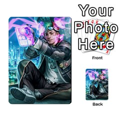 Netrunner Alts By Joao Costa   Multi Purpose Cards (rectangle)   4ezvfjwfm1pr   Www Artscow Com Front 2