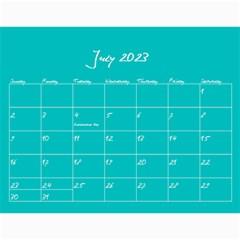 Polka Dot Calendar 2015 By Zornitza   Wall Calendar 11  X 8 5  (12 Months)   Yug5sseyjvvv   Www Artscow Com Jul 2015