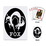FOX Playing Cards - Playing Cards Single Design
