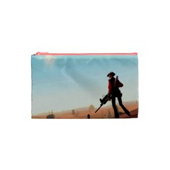Sniper Cosmetic Bag By Maddi S    Cosmetic Bag (small)   Pi6zn7msb1k9   Www Artscow Com Front