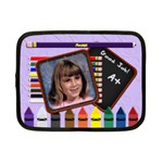 Back to School Pencil Netbook Case Small - Netbook Case (Small)