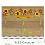 Year Review 2015 calendar - Wall Calendar 11  x 8.5  (12-Months)