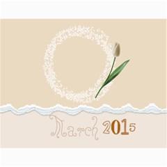 Colorful Calendar 2015 Calendar By Zornitza   Wall Calendar 11  X 8 5  (12 Months)   Mfg3hiukapaz   Www Artscow Com Month