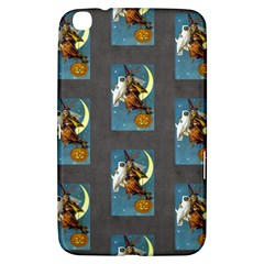 Vintage Halloween Witch Samsung Galaxy Tab 3 (8 ) T3100 Hardshell Case  by EndlessVintage