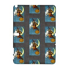 Vintage Halloween Witch Samsung Galaxy Note 10.1 (P600) Hardshell Case by EndlessVintage