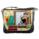 merrry christmas - Messenger Bag