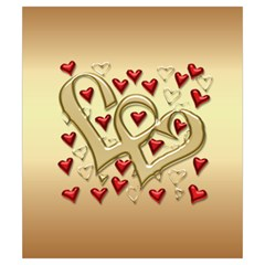 Valentine Sweetheart Drawstring Pouch (small) By Deborah   Drawstring Pouch (small)   Zrcvae89odba   Www Artscow Com Back