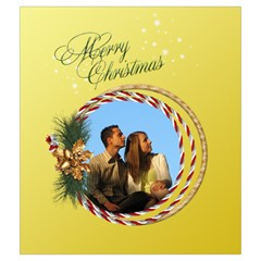 Christmas Joy Drawstring Pouch (medium) By Deborah   Drawstring Pouch (medium)   H67p79b3ccbt   Www Artscow Com Front