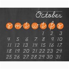 Chalk Calendar 2015 Calendar By Zornitza   Wall Calendar 11  X 8 5  (12 Months)   Rsxilbui2adv   Www Artscow Com Oct 2015