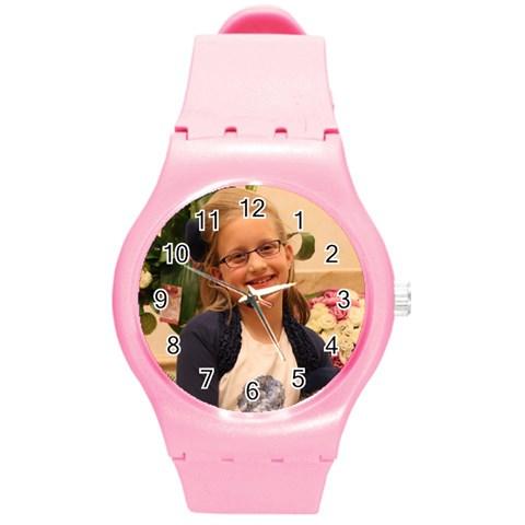 Chavy By Miriam Seidenfeld   Round Plastic Sport Watch (m)   Akn4sj0idd40   Www Artscow Com Front