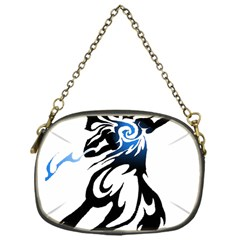 Alpha Dog Chain Purse (one Side) by Viewtifuldrew