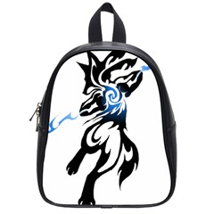 Alpha Dog School Bag (small) by Viewtifuldrew