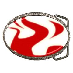 Fever Time Belt Buckle (oval)
