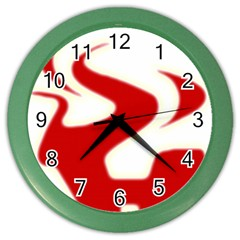Fever Time Wall Clock (color) by Viewtifuldrew