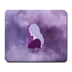Profile Of Pain Large Mouse Pad (rectangle) by FunWithFibro