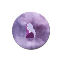 Profile Of Pain Magnet 3  (round) by FunWithFibro