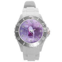 Profile Of Pain Plastic Sport Watch (large) by FunWithFibro