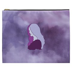 Profile Of Pain Cosmetic Bag (xxxl) by FunWithFibro