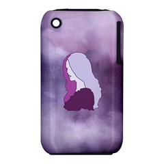 Profile Of Pain Apple Iphone 3g/3gs Hardshell Case (pc+silicone) by FunWithFibro