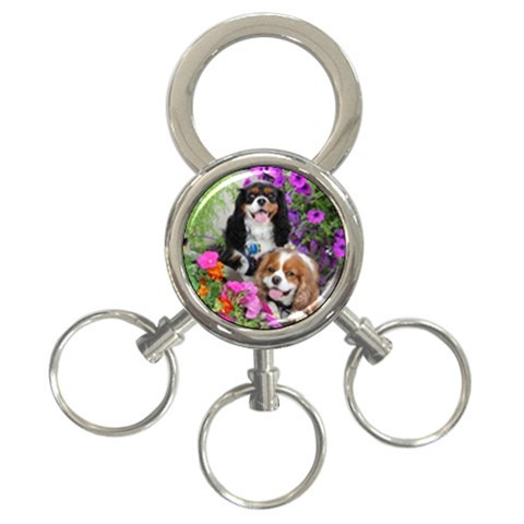 Adele By Adele Savoie   3 Ring Key Chain   Hslnbgl3wxs5   Www Artscow Com Front