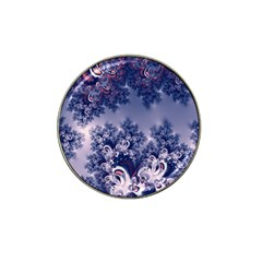 Pink And Blue Morning Frost Fractal Golf Ball Marker 10 Pack (for Hat Clip)