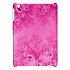 Soft Pink Frost Of Morning Fractal Apple Ipad Mini Hardshell Case by Artist4God