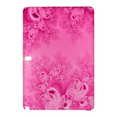 Soft Pink Frost Of Morning Fractal Samsung Galaxy Tab Pro 12 2 Hardshell Case by Artist4God