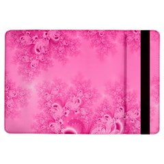 Soft Pink Frost Of Morning Fractal Apple Ipad Air Flip Case by Artist4God