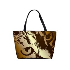 Tigre Chat Large Shoulder Bag by CrackedRadish