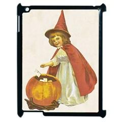 Vintage Halloween Child Apple iPad 2 Case (Black) by EndlessVintage