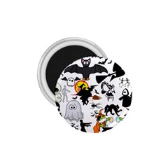 Halloween Mashup 1 75  Button Magnet by StuffOrSomething