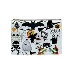 Halloween Mashup Cosmetic Bag (medium) by StuffOrSomething
