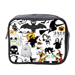 Halloween Mashup Mini Travel Toiletry Bag (Two Sides) by StuffOrSomething