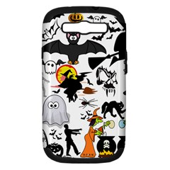 Halloween Mashup Samsung Galaxy S Iii Hardshell Case (pc+silicone) by StuffOrSomething